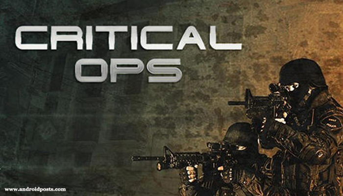 critical ops- best free android games